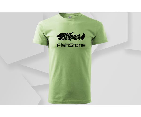 Pánské tričko Fishstone, zelené