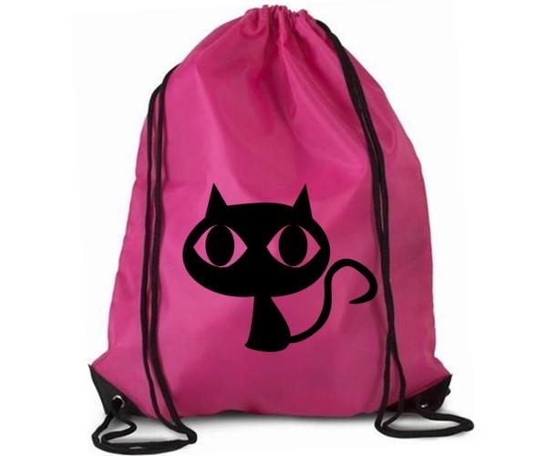 Vak sportovní růžový - Kočka