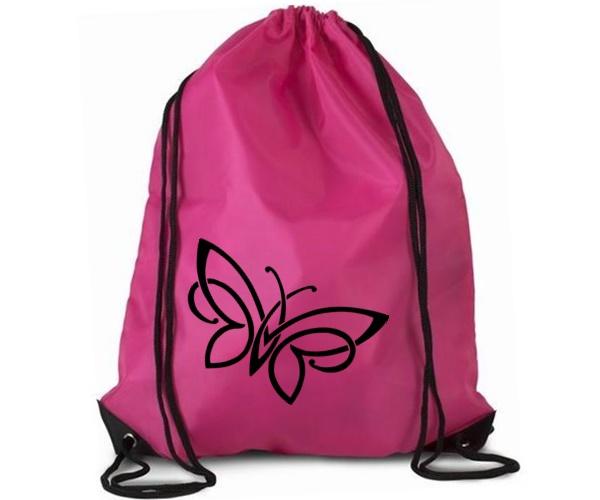 Vak sportovní růžový - Motýl
